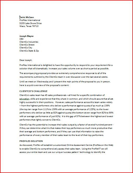 Tips on How to Write the Professional Business Letter Template ...