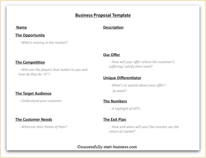 Doc464600 Templates for Proposals Proposal Templates 80 – Proposals Templates