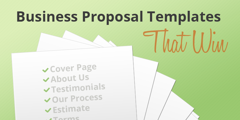 Key Parts Of Business Proposal Template | Roiinvesting.Com