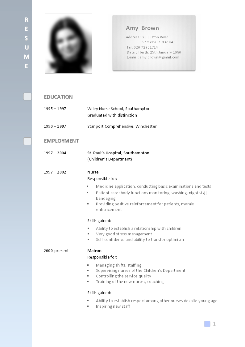 what is a cv resume examples