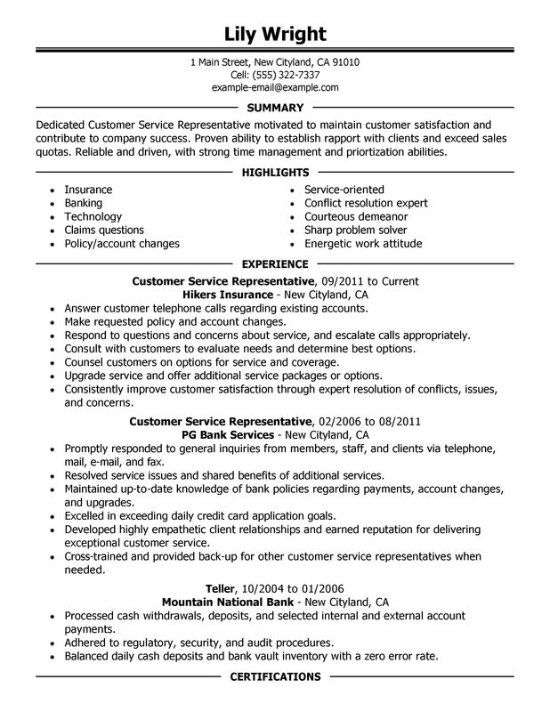 Functional Resume Sample Waiter  Resume Formatter