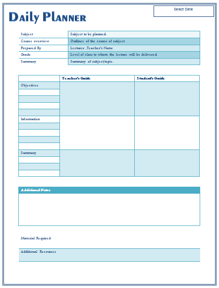 lesson plan template daily - 28 images - sle daily lesson plan 6 ...