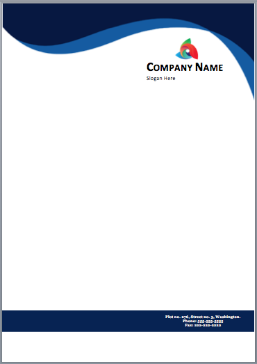 on how to find the best free letterhead template