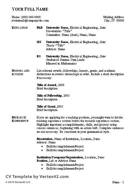 Fast Online Help | writing of cv example