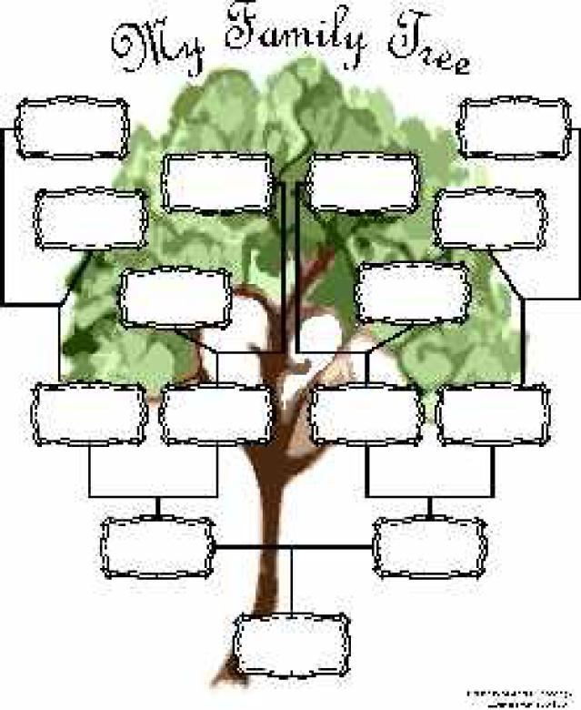Guide to Making a Family Tree Format   RoiInvesting.com